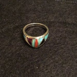 Jewelry - Turquoise and silver ring
